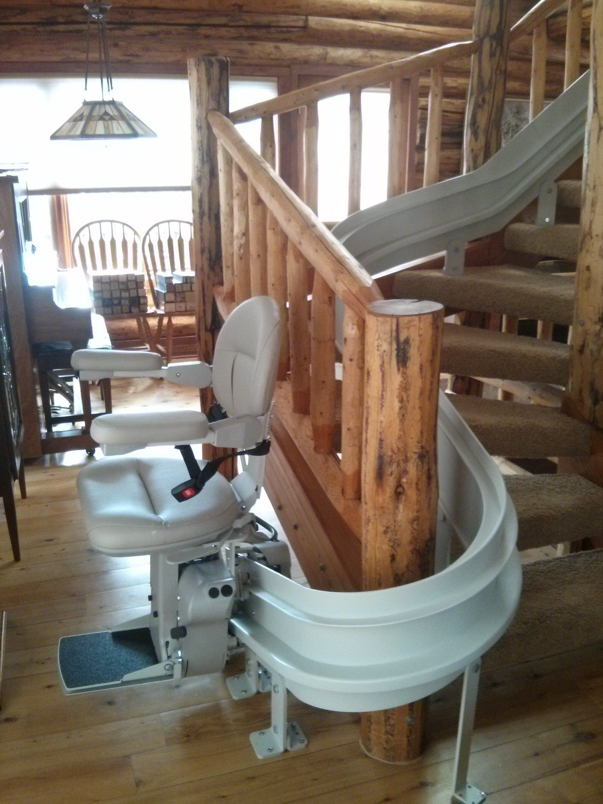 Amazing Bruno_Curved_Stair_Lift Design