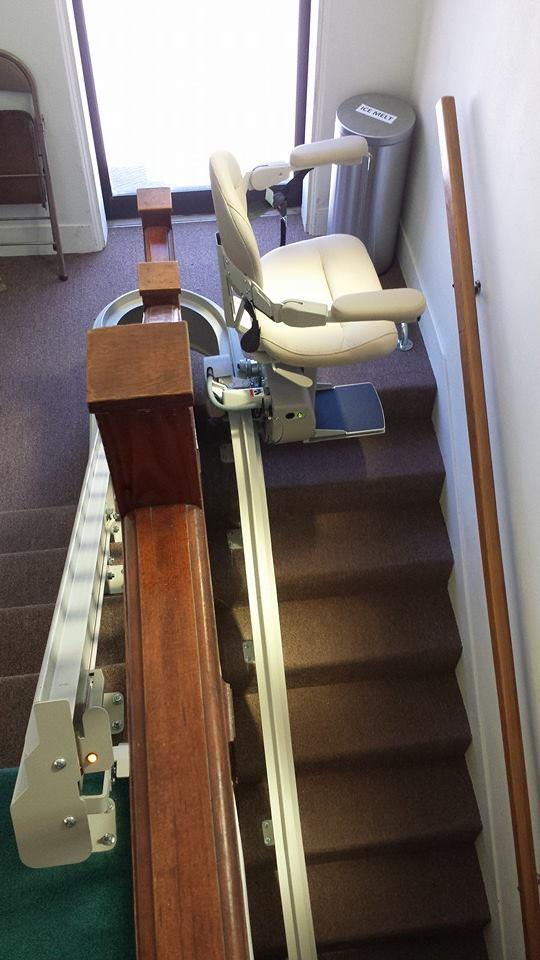 Bruno Custom Curved Stairlift