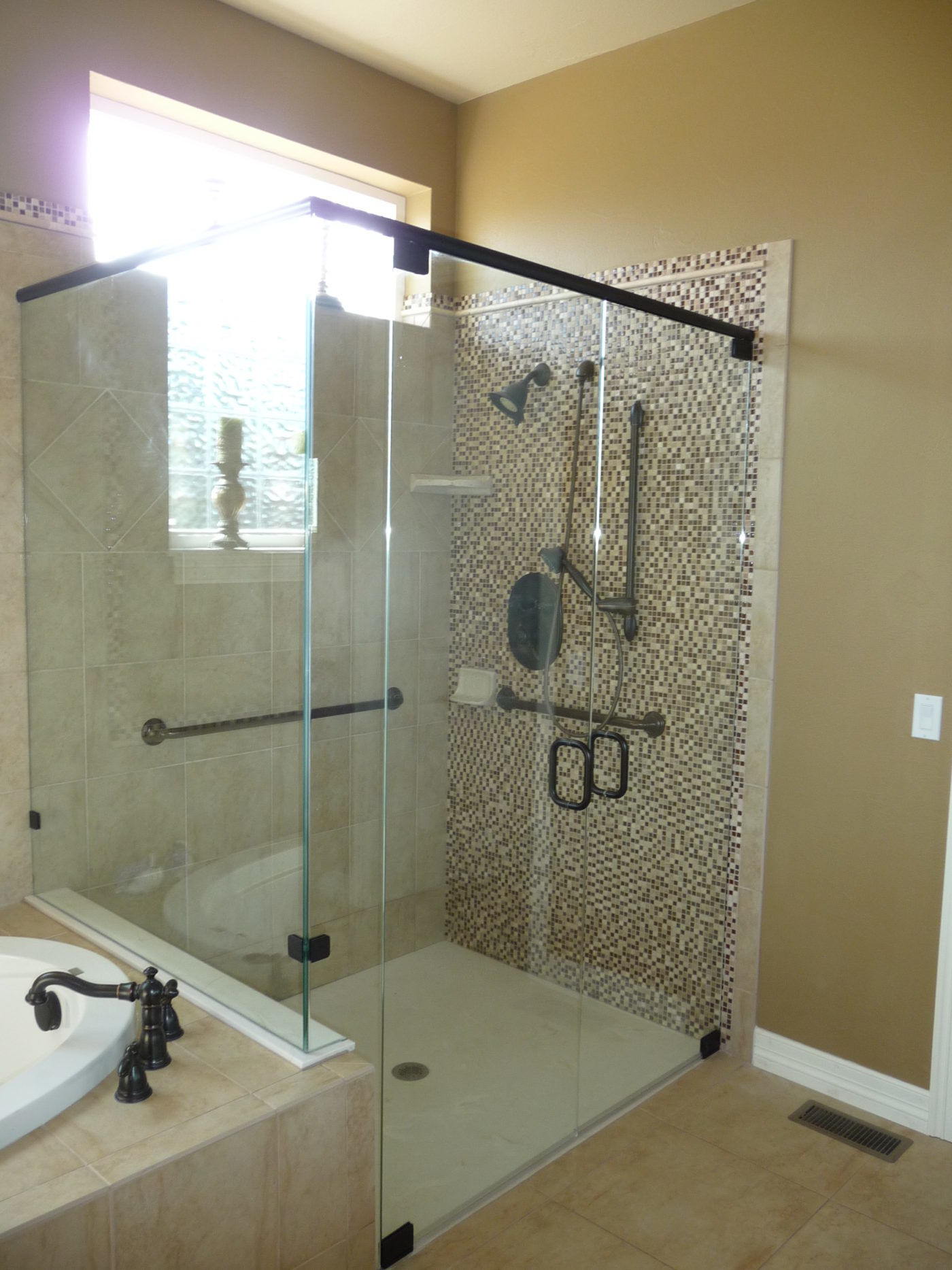 Euro Style Bathroom With Glass Doors Castle Rock Co