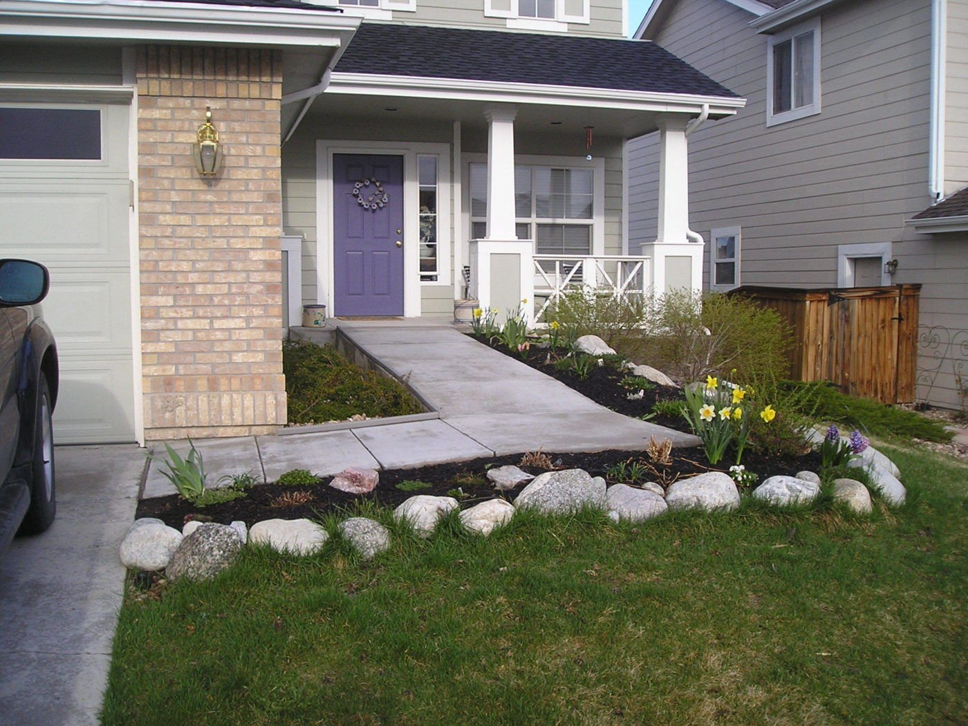 Custom concrete ramp accessible systems for Ada compliant homes