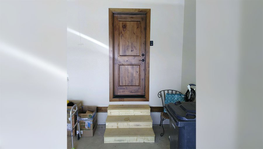 How to make the garage in a home handicap accessible