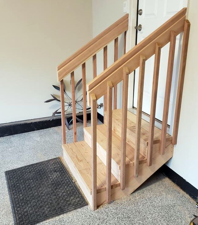 Garage stairs ideas to help plan for home accessibility